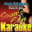 Dusk Till Dawn (Originally Performed by Zayn & Sia) [Karaoke Version]