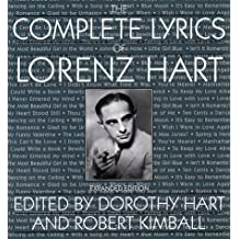 The Complete Lyrics of Lorenz Hart by Lorenz Hart (1995-10-31)