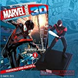 Marvel Heroes 3D Miles Morales Spiderman Resin Figure Collection +fas
