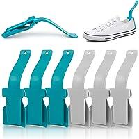 Aide à Chaussures Paresseux 10 Pcs Corne de chaussure en plastique Paresseux Chausse-Pied Chausse Pied Lazy Shoe Helper…