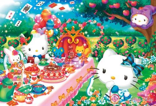 Tea Party 31-415 Sanrio Charaktere 1000 St?ck Hallo Kitty (Japan Import / Das Paket und das Handbuch werden in - Sanrio Kostüm