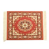 Tutoy 11 '' X 7 '' Persian Style Mini Woven Teppich Mouse Pad Teppich Mousemat Mit Fringe