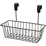 FORKLS Hanging Storage Basket, Cabinet Door Organiser, Over Door Kitchen Cabinet Storage Basket Rack Holder Hanging Organiser