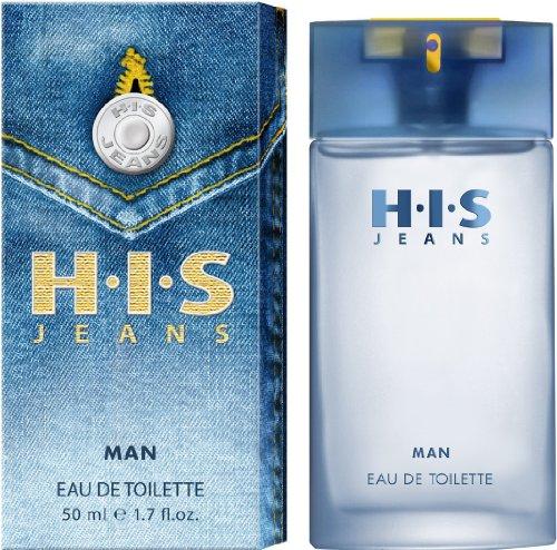 H.I.S  Jeans man Eau de Toilette, 50 ml