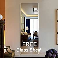 Creative Arts n Frames Glass Wall Mirror (18 x 48 inch, Silver)