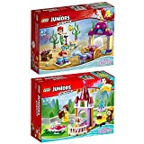 Lego Juniors Disney Princess 2er Set 10762 10765 Belles Märchenstunde + Stephanies Haus am See