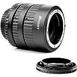 SHOOT Automatik Zwischenringe 12mm 20mm 36mm für Makrofotographie für Nikon D3000, D3100, D3200, D3300, D5000, D5100, D5200, D5300, D7000, D7100,etc
