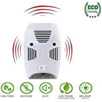 Wosta Ultrasonic Non-Toxic Home Pest Repellent for Kitchen, Living Room, Office, Electronic Bug Repellent Reject Ant…