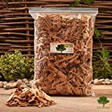 Gwernyfed Wood Smoking Wood Chips 4.5 Litre – Smoking Food in a Smoker/BBQ - Kiln Dried - Fast FREE delivery