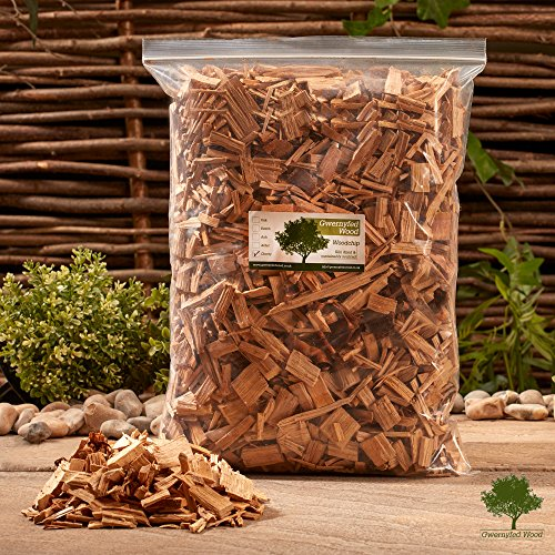 Gwernyfed Wood Smoking Wood Chips 4.5 Litre � Smoking Food in a Smoker/BBQ - Kiln Dried - Fast FREE delivery (Apple)