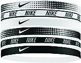 Nike Erwachsene Elastic Hairbands Haarbänder, White/Black, 0