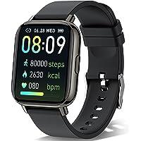 Sudugo Smartwatch, 1.69 Zoll Touch Armbanduhr Fitnessuhr mit 24 Sportmodi, Fitness Tracker IP67 Wasserdicht Sportuhr…