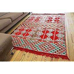 200x 135cm Kilim Oriental alfombra Kelim alfombra/alfombrilla de suelo, tapiz colgar en la pared, camino de mesa, zona alfombra, alfombras, nuevo, damaskunst S 1–4-22