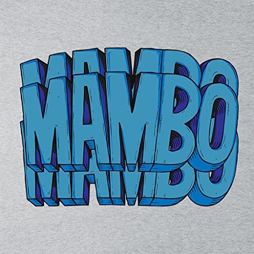 Mambo Triple Women's Sweatshirt Heather Grey