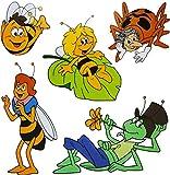 """1 Bogen _ XL Fensterbilder - """" die kleine Biene"""
