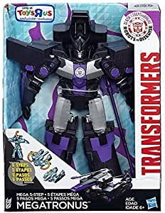 "Transformers Robots in Disguise Clash of the Transformers Megatronus 10"" Action Figure [5-Step Changer] by Hasbro Toys"