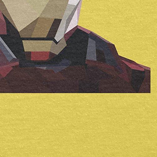 Texlab–Iron Polygon–sacchetto di stoffa Gelb