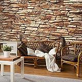 murando - Fototapete Steinoptik 3D 500x280 cm - Vlies Tapete -Moderne Wanddeko - Design Tapete - Stadt Textur City f-A-0474-a-b