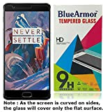 BlueArmor Premium HD Tempered Glass Screen Guard Protector for OnePlus 3 One Plus Three / Oneplus 3T / One plus 3T