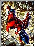 imagenation The Amazing Spiderman 'web Wrap Comic'-60cm x 80cm impresión en láminas autoadhesivas papel Póster