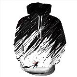 TAGVO Sudaderas con Capucha Impresas en 3D Unisex Novedad Sudadera Personalizada Jerseys Jerseys de Manga Larga Transpirable