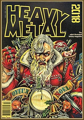 Wall Calendar 2018 [12 pages 20x30cm] HEAVY METAL MAGAZINE Covers Pulp Fiction [Calendar] [Jan 01, 2017] Pixiluv
