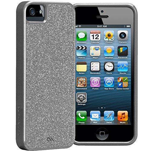 Case Mate CM022460  Glam Case für Apple iPhone 5 silber