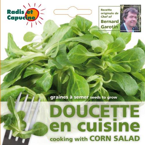 Radis et Capucine Sachet de Graine de Doucette Comestible Multicolore 5 x 5 x 5 cm