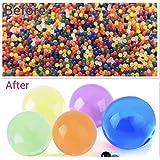 Lot de 5000 Perles en Gel Aquatique Extensibles et colorées Qui Absorbent de Superbes Boules de Remplissage pour Vase Orbeez - Boule d'eau Magique - Qualité contrôlée par Un Vendeur Britannique.