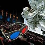 #4: Universal type 3D glasses/Red Blue Cyan 3D glasses Anaglyph 3D Plastic glasses