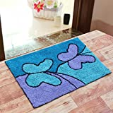 #6: Generic Sahil Home Decor Pure Cotton Anti Skid Water Obsorbing Door Mat - 20 Inch x 30 Inch, Multi Color