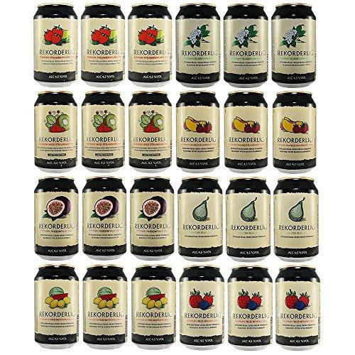 Rekorderlig Cider Probier-set 2, 24 X 0,33l Dosen Pfandfrei