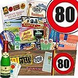 DDR Geschenke XXL | Spezialitäten Geschenk | Geburtstag 80 | Geschenk Box Mutter