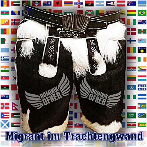 Migrant im Trachtengwand