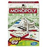 Hasbro Monopolio Grab and Go Juego