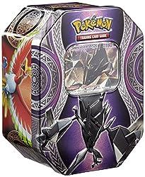 Die neuen Pokémon Tin Boxen Herbst 2017 präsentieren drei neue Pokémon jeweils in der mächtigen Ausgabe als Pokémon-GX: Ho-Oh GX, Necrozma GX und Marshadow GX! Die drei Tin Boxen bieten jede Menge Spaß für alle Pokémon-Fans, denn sie enthalten jew...