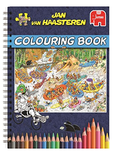 Jan van Haasteren Colouring Book Libro/álbum para colorear - libros y páginas...