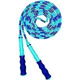 AlfaView Zacht kralen springtouw, verstelbaar segment zonder knopen springtouw voor kinderen Volwassenen Fitness springtouw m