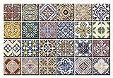 Mi Alma Variationsliste im C-Stil 10 x 10 cm 4x4 Inch Küchenabziehbilder HA2