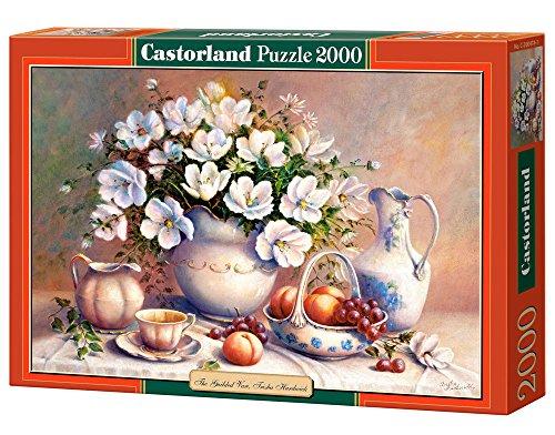 CASTORLAND, Trisha Hardwick - Puzzle 2000 Pezzi, Riproduzione di The Guilded Vase