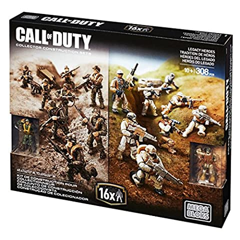 Mega Bloks Call Of Duty - Mega Bloks CALL OF DUTY LEGACY héros