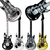 German Trendseller® - 1 x guitar gonflable┃ Rockstar ┃ 106 cm ┃décoration de la fête ┃déguisement de carnaval