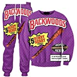 Pants Backwoods Honig Berry Blunts 3D Over Print Trainingsanzüge Sweatshirts Hipster Casual Kordelzug Casual Hosen Frauen Männer BWT XL