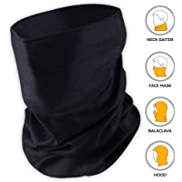 Bismaadh UV Face Mask - Neck Gaiter for Dust & Sun Protection - Face Cover/Scarf for Fishing, Hiking, Cycling & ATV Riding - UPF 30 Breathable Summer Balaclava - Moisture Wicking 12-in-1 Headwear