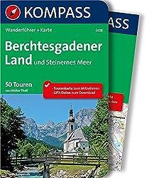 Berchtesgadener Land und Steinernes Meer: Wanderführer mit Tourenkarte zum Mitnehmen. (KOMPASS-Wanderführer, Band 5438)