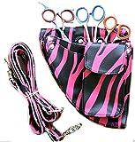Friseur Schere Tasche / Frisur Werkzeuge Tasche / Schere Tasche. Rosa Zebra ...
