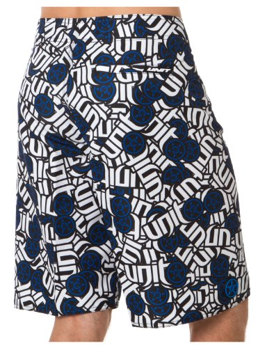 Unit Boardshort Alias Blau Blau