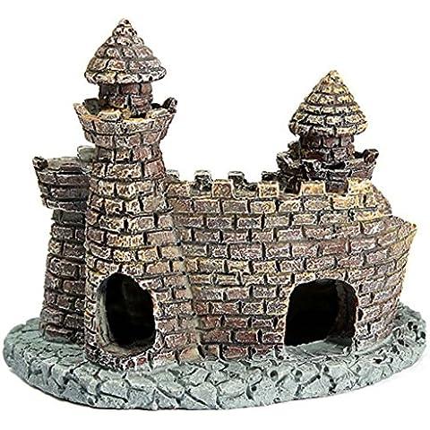 QHGstore Fish Tank decorazione della ceramica Grotte