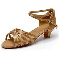 TRIWORIAE - Donna Scarpe da Ballo Latino/Sala da Ballo/Standard Tacco 4cm