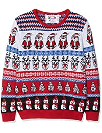 British Christmas Jumpers Kid's Comic Crazy Christmas Jumper